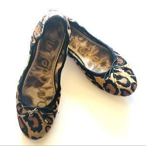 Sam Edelman Shoes - Sam Edelman  Felicia animal print flats  Size 7